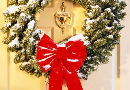 Christmas wreath - Other & Abstract Background Wallpapers on Desktop Nexus (Image 1245678)