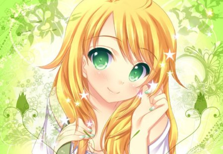 Green Eyes Other Amp Anime Background Wallpapers On