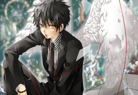 Angel Boy - Other & Anime Background Wallpapers on Desktop ...