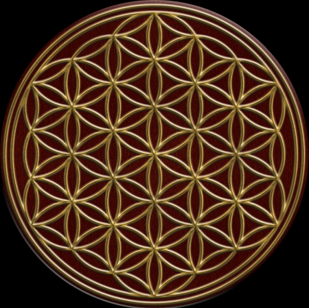 Flower of Life - 3D and CG & Abstract Background ...