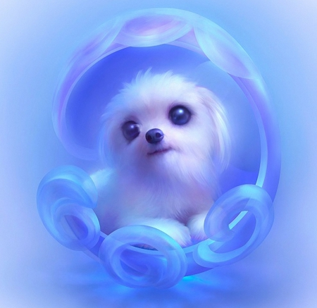 ANIME DOG - Dogs & Animals Background Wallpapers on ...