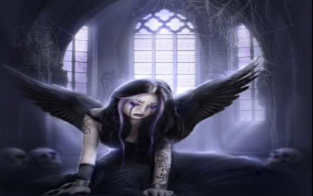 crying angel wallpaper gothic - photo #7