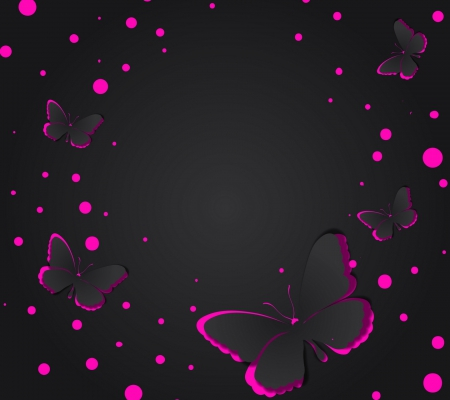 purple butterflies collages amp abstract background