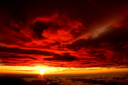 red steppe clouds - photo #45