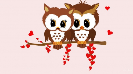 Special valentine owls valentine 39 s day wallpapers and images desktop nexus groups - Cute valentines backgrounds ...