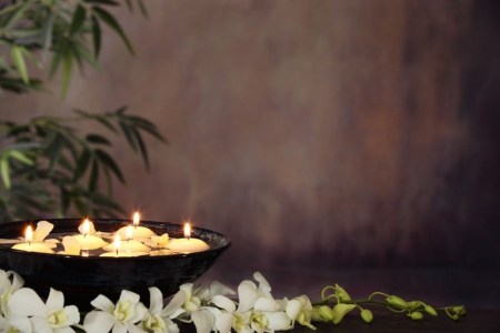 Spa design photography abstract background wallpapers for Salon wallpaper
