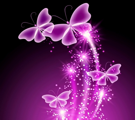 purple butterfly wallpaper desktop