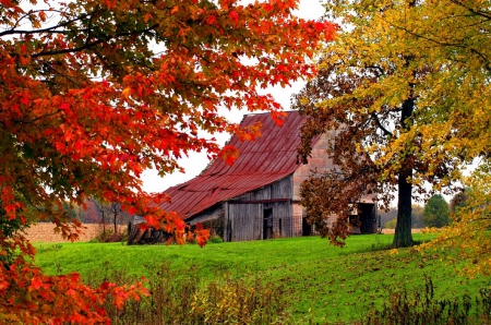 autumn cabin wallpaper desktop - photo #21