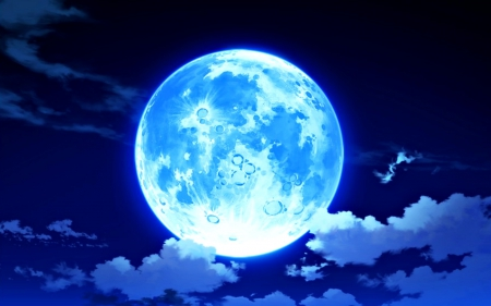 blue moon fantasy amp abstract background wallpapers on