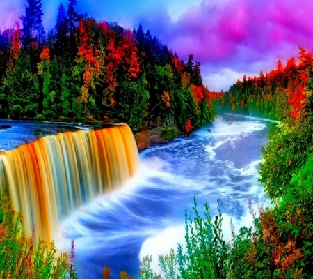 colorful nature forces of nature amp nature background