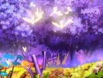Anime Purple Forest