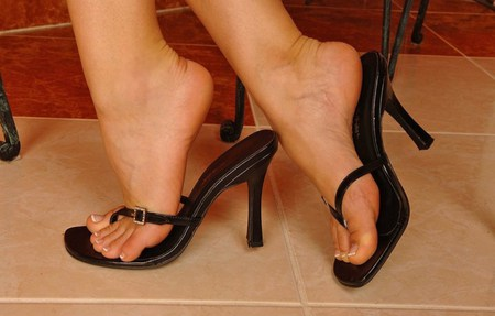 beautiful feet photo черное № 27858