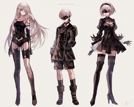 A2, 9S & 2B - Anime Fans Wallpapers and Images
