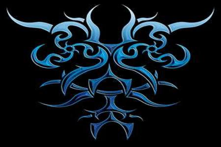 blue tribal other amp abstract background wallpapers on
