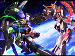 00 Raiser vs Unicorn