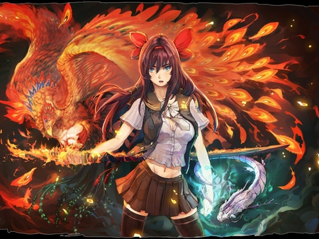 Powerful Blade  Other &amp Anime Background Wallpapers On
