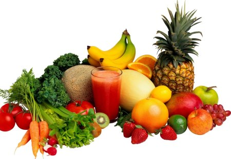 Fruits for a Healthy Life - fruits, health, life, juice