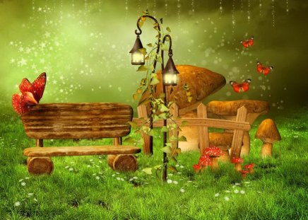 Fairy Woodland Fantasy Amp Abstract Background Wallpapers