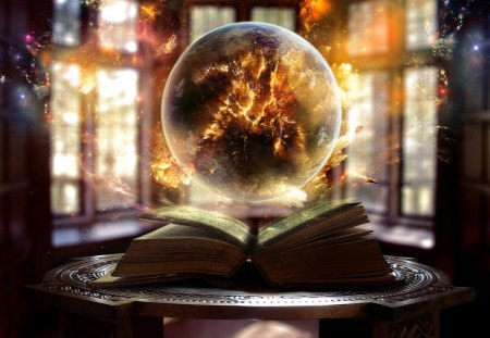 History inferno - inferno, beautiful, burn, colors, air, circle, magic, earth, shuttle, bible, book