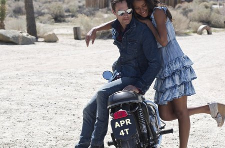 Cherished Plate - motorcycle, female, male, models