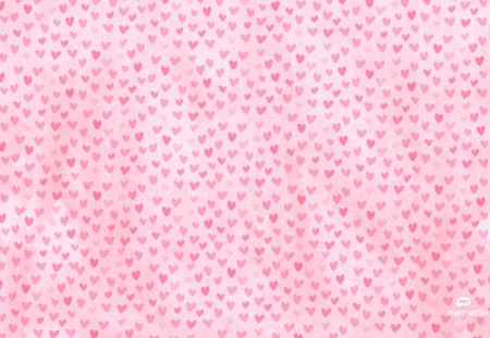 Tiny hearts background - background, pink, hearts, tiny