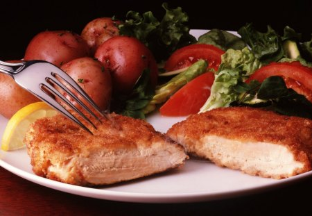 CHICKEN BREAST - nice, taste, hot, fast, food