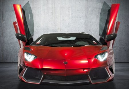 Mansory Aventador - custom, red, lambo, tuned