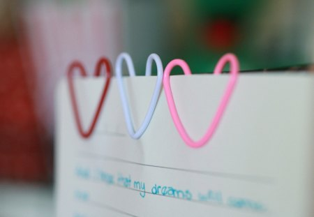my dreams - dreams, purple, colorful, pink, paper, love, hearts