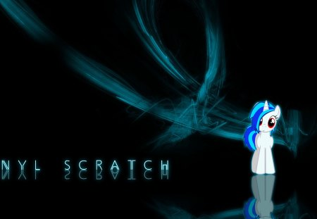 Vinyl scratch - dark, cool, nice, vinyl, black, awesome, abstract, pony