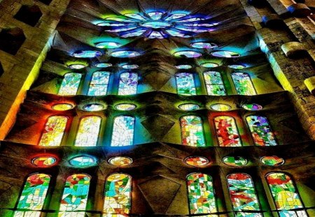 beautiful stained glass wallpaper - photo #1