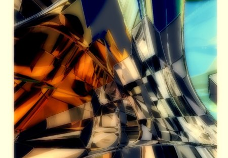 Climbing - abstraction, fractals, 2d, geometric, 3d, abstract, fantasy, cg