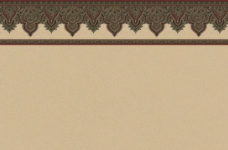 Arabesque Top Border 1 - wallpaper border, artwork, art, computer graphics, illustration, wide screen