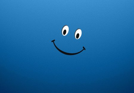 Just happy - smiley, blue, happy, eyes
