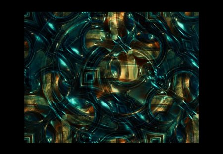 Messy - abstraction, fractals, colorful, geometric, fantasy, cg