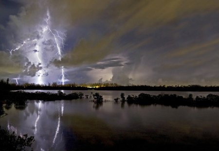 Lightning - 07, 09, 2012, nature, lightning, picture