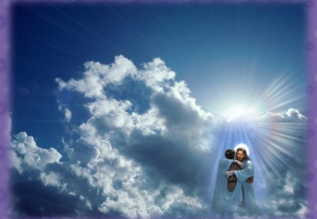 Jesus christ the lord 3d and cg abstract background - 3d jesus wallpapers ...