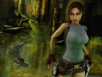 LARA AND THE CROCODILE
