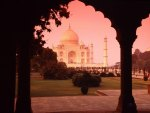 ROMANTIC VIEW OF TAJ MAHAL