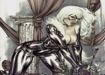 Black Cat (Comics) - spider man, cat burglar, marvel, felicia hardy