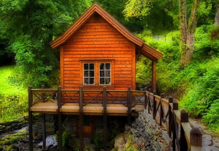 Forest cabin - Forests & Nature Background Wallpapers on Desktop Nexus (Image 1114509)