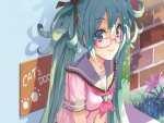 Miku With Glasses... :P
