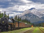 Train Station, Banff National,Park, Alberta