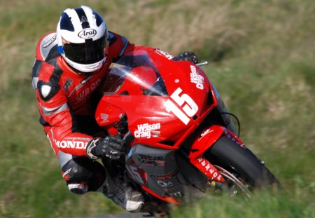William Dunlop 2012 TT - michael, dunlop, honda, fireblade, tt