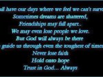 Trust In God ... Always