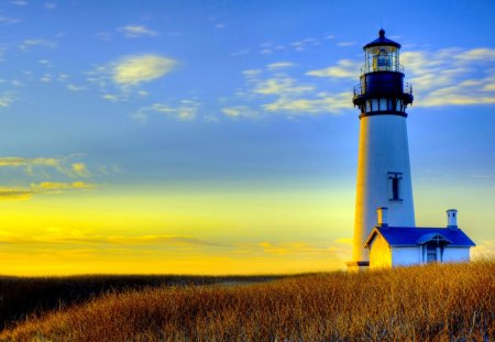 LIGHTHOUSE - house, nature, sunlight, architecture, lighthouse