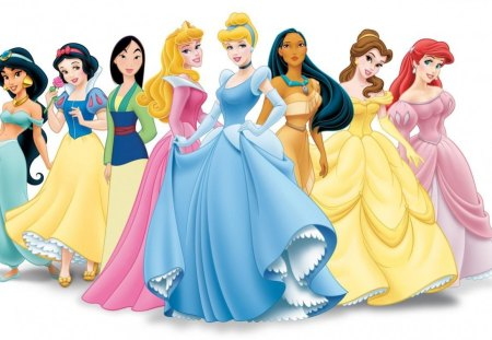 Disney's Women. - of, fabulous, a, collection