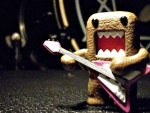 Domo wit a guitar