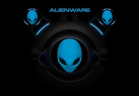 future alien - alienware, windows 7, logos, faces, space, aliens