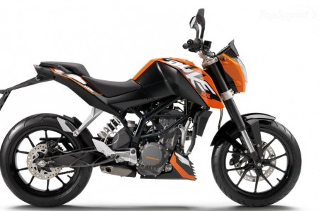 Small But Perfectly Formed - ktm, cc, motorcycle, orange, duke, 125