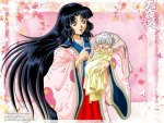 Inuyasha and His Mother